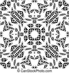 black groovy pattern