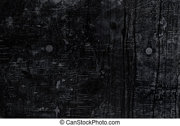 Black grungy background - Black grunge wall texture...