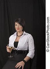 Black Hair and Wine