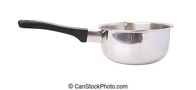 Black handle pot