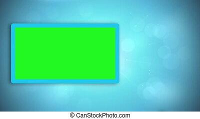 Black hands moving copyspace on blue digital background