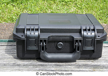 Black hard transport case