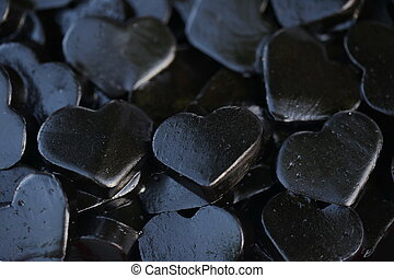 black heart jelly