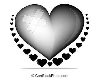 black heart of hate