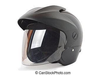 black helmet