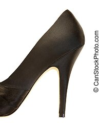 Black High Heeled Shoe