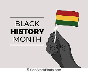 Black History Month - African independence leader hand ...
