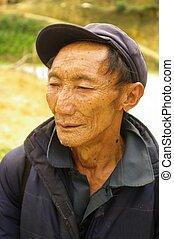 Black Hmong Man