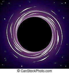 Black hole background