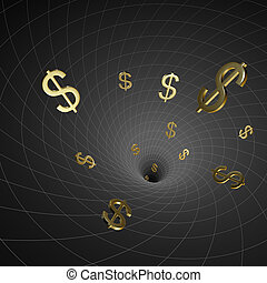 Black hole dollars