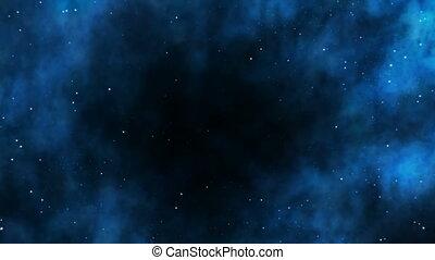 Black hole seamless loop - Seamlessly loopable video of...