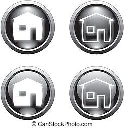 black home button