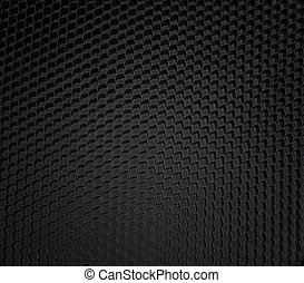 Black honeycomb micro detailed background layer