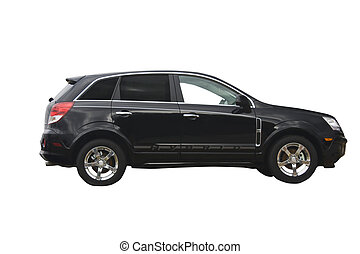 black hybrid crossover SUV - ecco friendly hybrid crossover...