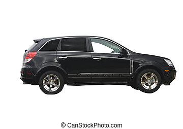 black hybrid crossover SUV - ecco friendly hybrid crossover...