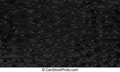 Black infinity loop luxury background three sample cut