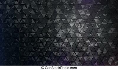 Black infinity loop luxury background three sample cut