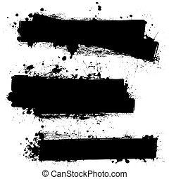 black ink blank