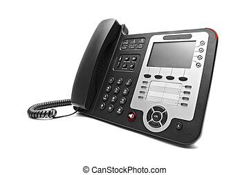Black IP office phone