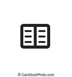 black journal icon