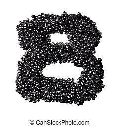 black kaviár, számok