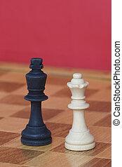 Black King & White Queen