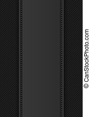 black knitwear background with copy space