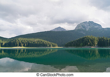 black lake in Durmitor National Park