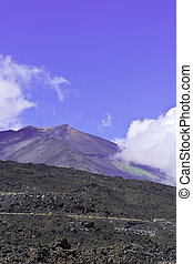 Black Lava of Etna