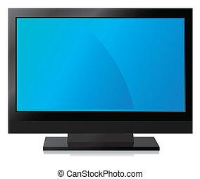 Black LCD, LED, Plasma TV