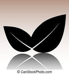 Black Leaf icon