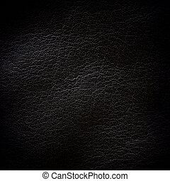 Black leather background