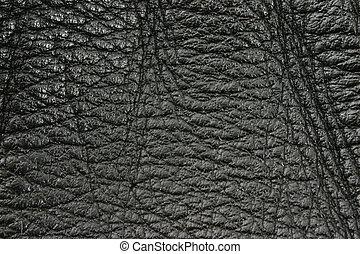 black leather textur