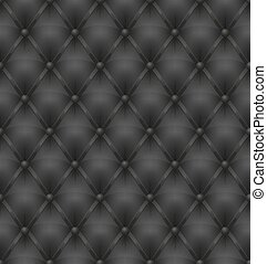 black leather upholstery seamless