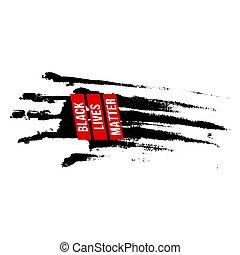 Black Lives Matter - Black Bloody Hand, Design Concept for ...