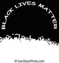 Black Lives Matter demonstration - Monochrome International ...