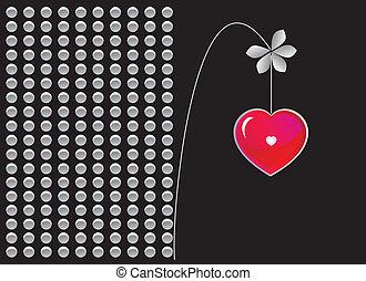 black love postcard