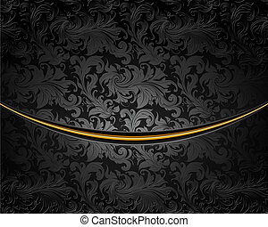 Black Luxury Background, vector