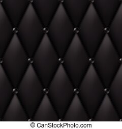 Black Luxury Leather