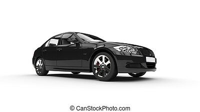 black , machtig, auto