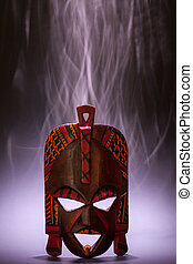Black Magic - Tradional mask from Kenya (made of wood) with ...