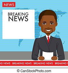 Black Male Anchor News