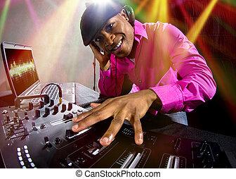 Black Male DJ
