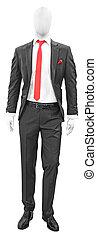 Black man suit