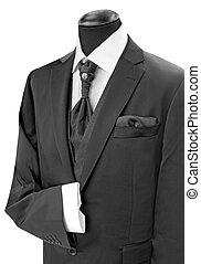 Black man's suit