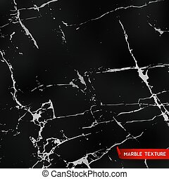 Black marble textures, vector background, template for...