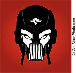 Black Mask. Racer. Rider. Pilot.