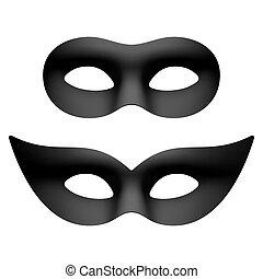 carnival party eye masks