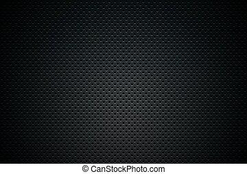Black Mesh Background Illustration. Dark Abstract Background