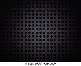 Black Metal Grid Pattern Background Illustration